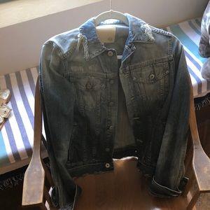 AG distresses jean jacket